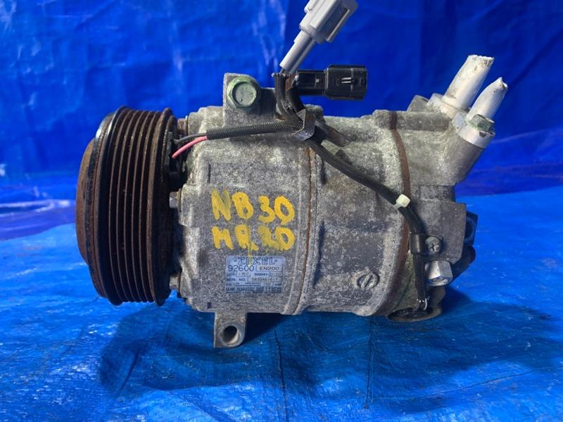 Компрессор кондиционера Nissan Lafesta NB30 MR20DE (б/у)