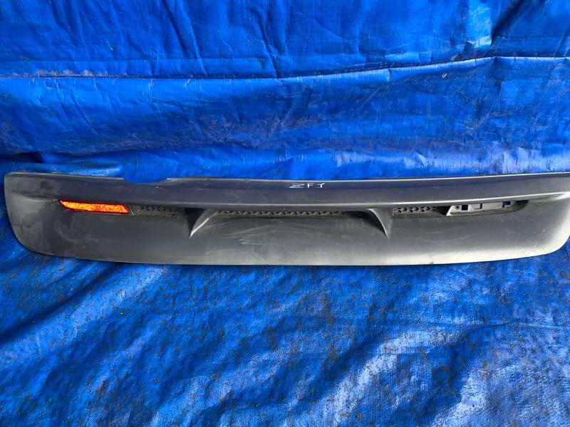 Накладка на бампер Honda Cr-Z ZF1 LEA задняя (б/у)