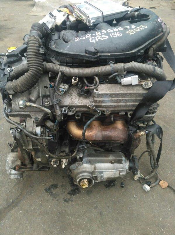 Двигатель Lexus Gs350 GRS196 2GRFSE (б/у)