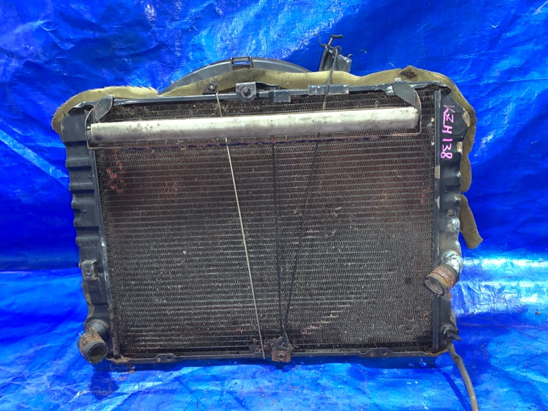 Радиатор основной Toyota Hiace KZH138 1KZTE (б/у)