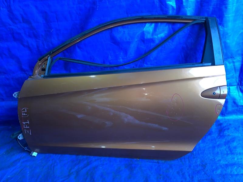 Дверь Honda Cr-Z ZF1 LEA передняя левая (б/у)