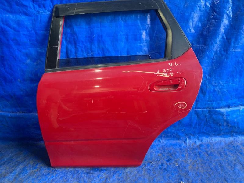 Дверь Honda Airwave GJ2 задняя левая (б/у)