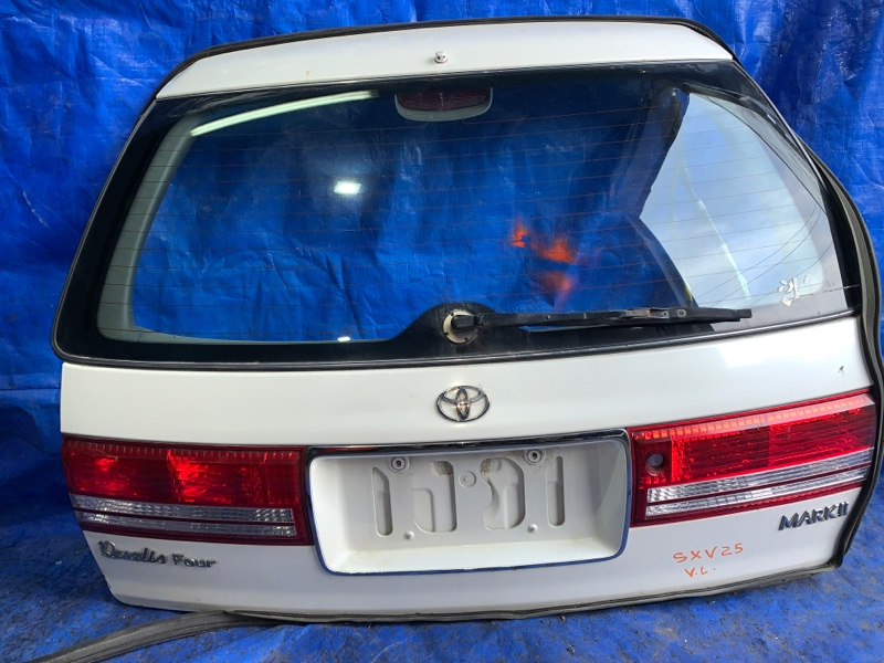 Дверь 5-я Toyota Mark Ii Qualis SXV25 задняя (б/у)