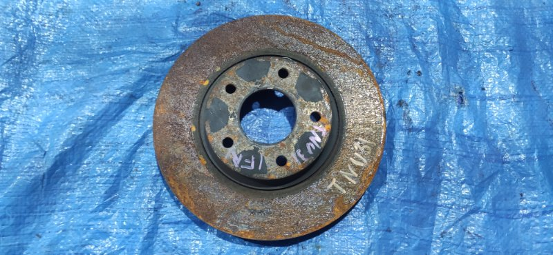 Тормозной диск Nissan Presage TNU31 QR25DE передний правый (б/у)