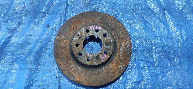 Тормозной диск Mazda Mpv LY3P передний правый (б/у)