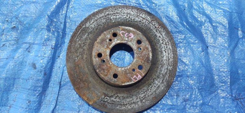 Тормозной диск Honda Accord CL9 передний левый (б/у)