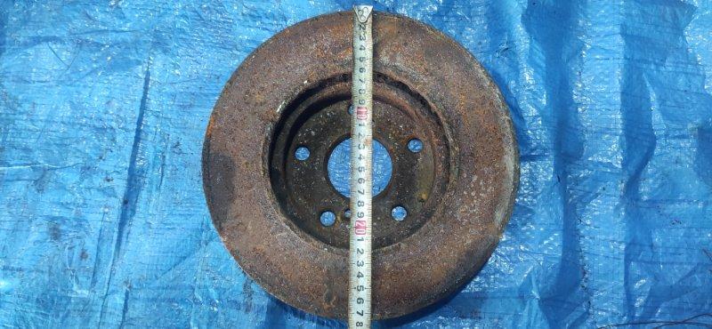 Тормозной диск Toyota Noah AZR65 1AZFSE передний левый (б/у)