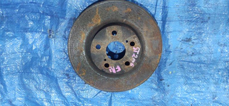 Тормозной диск Toyota Curren ST206 передний правый (б/у)