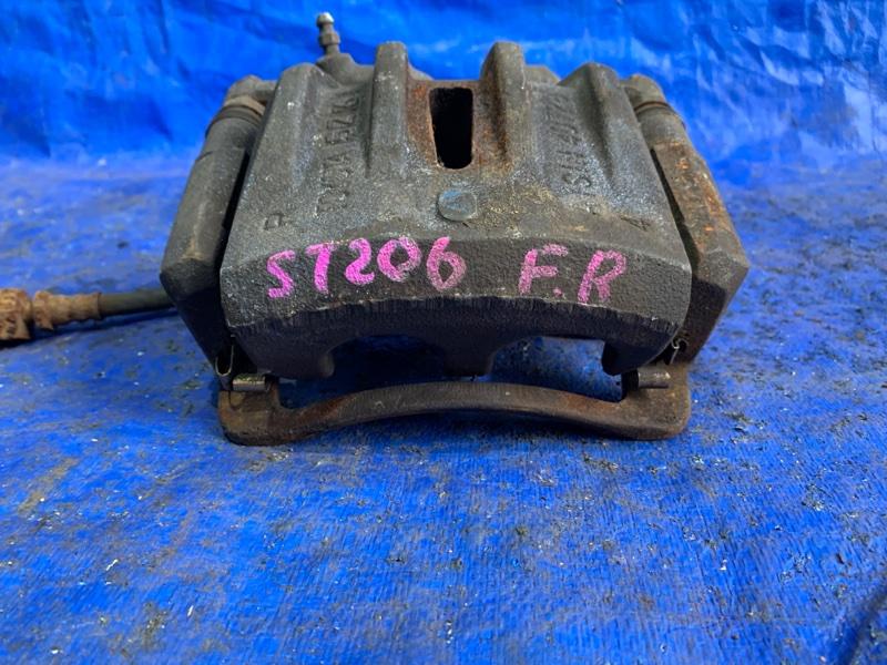 Суппорт Toyota Curren ST206 3SGE передний правый (б/у)