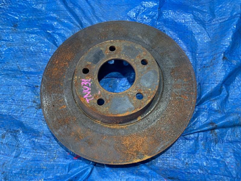 Тормозной диск Nissan Presage TNU31 QR25DE передний левый (б/у)