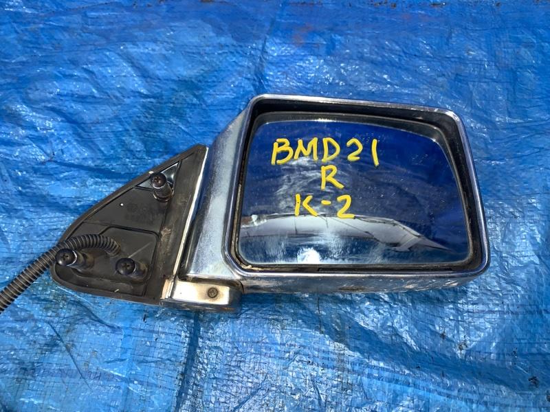 Зеркало Nissan Datsun BMD21 TD27 переднее правое (б/у)
