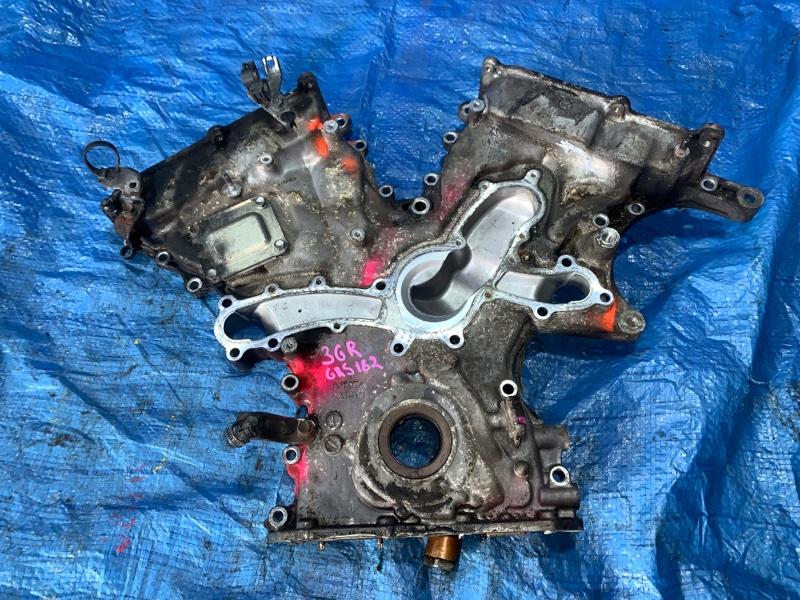 Лобовина двс Toyota Crown GRS182 3GRFSE (б/у)
