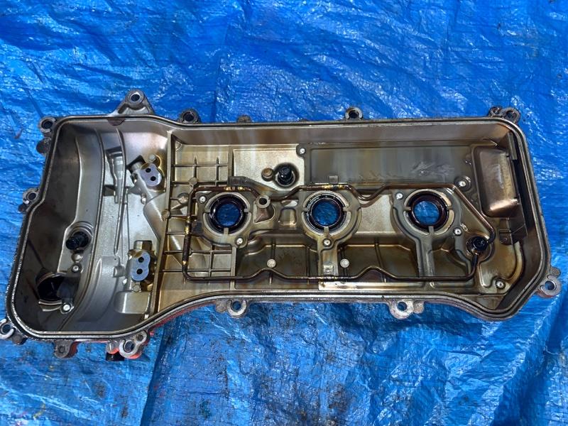 Клапанная крышка Toyota Crown GRS182 3GRFSE левая (б/у)
