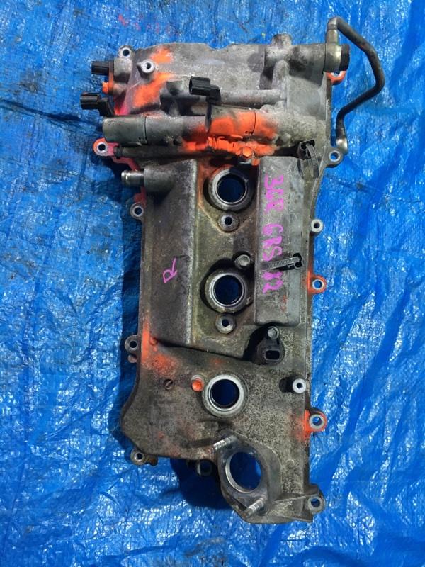 Клапанная крышка Toyota Crown GRS182 3GRFSE правая (б/у)