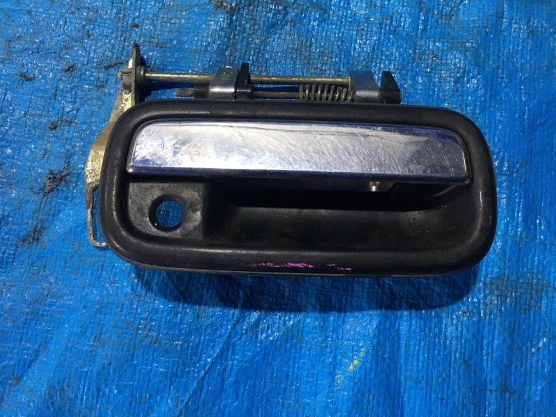 Ручка двери внешняя Toyota Land Cruiser Prado VZJ95 5VZFE передняя правая (б/у)