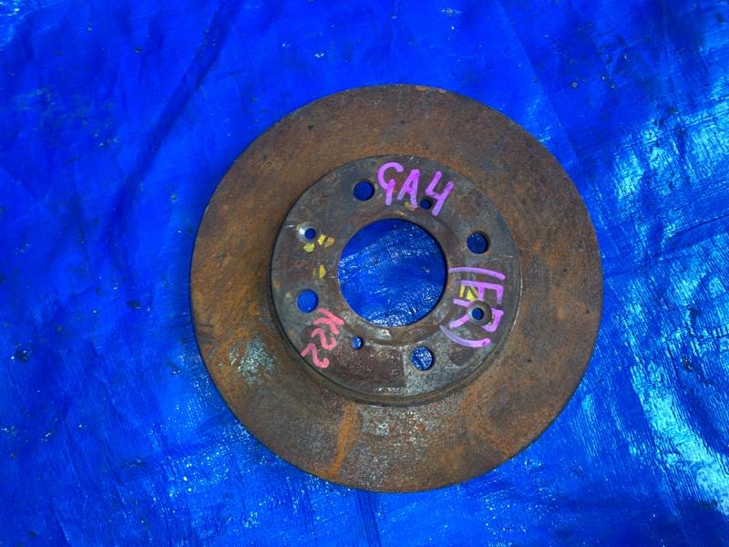 Тормозной диск Honda Capa GA4 D15B передний правый (б/у)