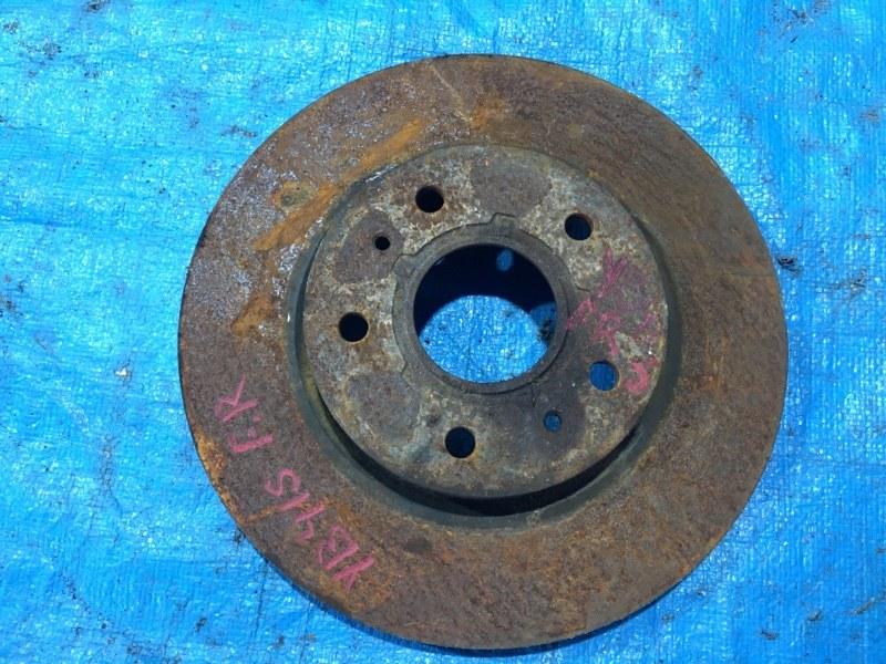 Тормозной диск Suzuki Sx4 YB41S J20A передний правый (б/у)