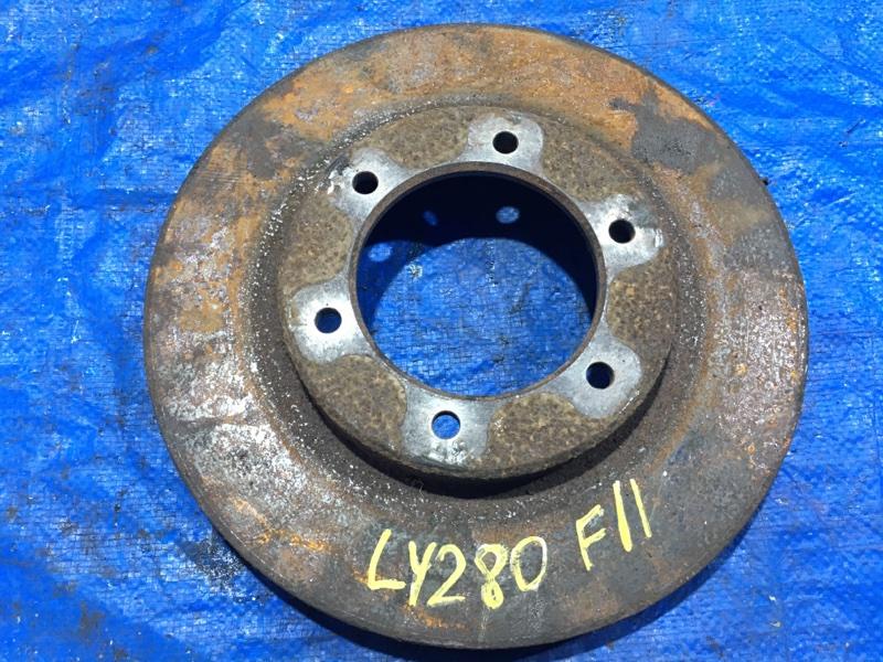 Тормозной диск Toyota Toyoace LY280 передний левый (б/у)