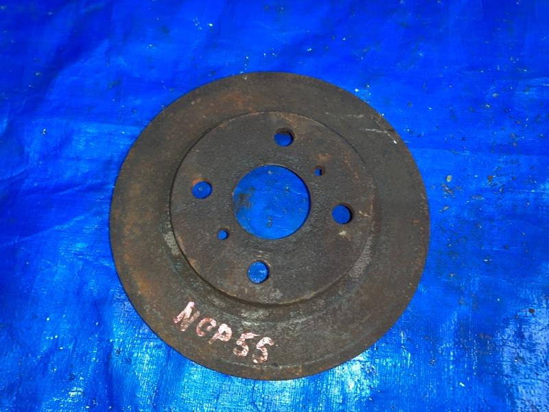 Тормозной диск Toyota Probox NCP55 1NZFE передний правый (б/у)
