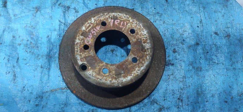 Тормозной диск Mitsubishi Outlander CW5W 4B12 задний (б/у)