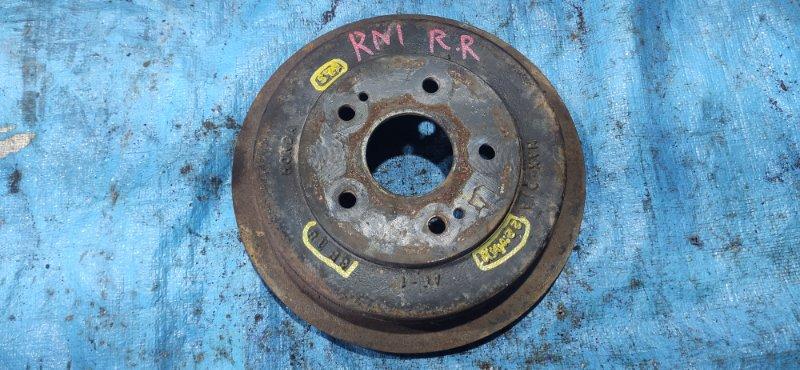 Тормозной диск Honda Stream RN1 задний правый (б/у)