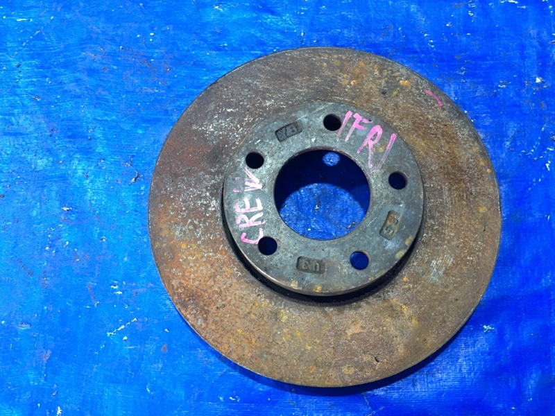 Тормозной диск Mazda Premacy CREW LF передний правый (б/у)