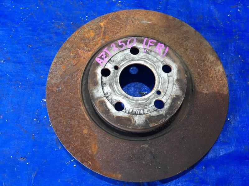 Тормозной диск Toyota Avensis AZT250 передний правый (б/у)