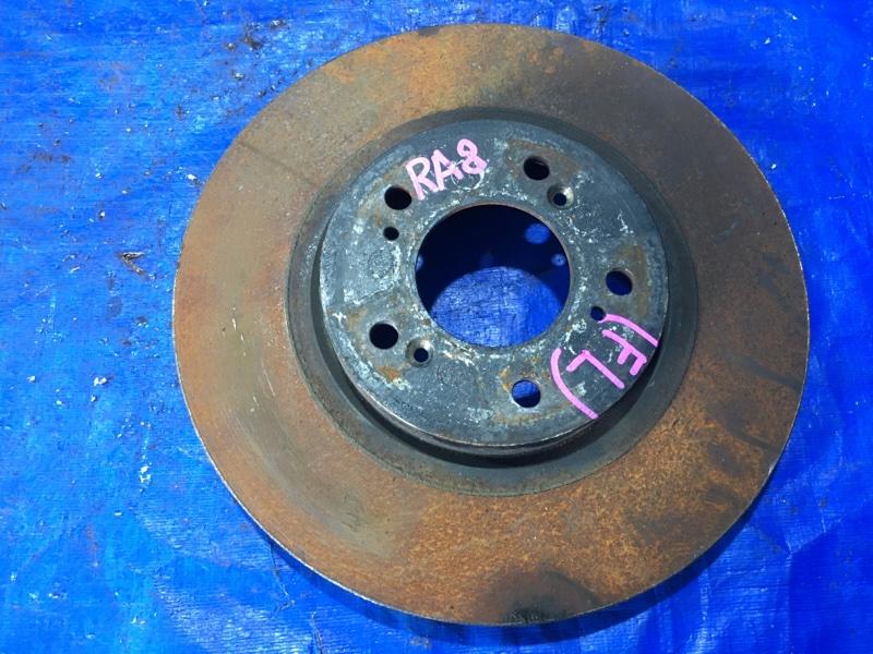 Тормозной диск Honda Odyssey RA8 2001 передний левый (б/у)