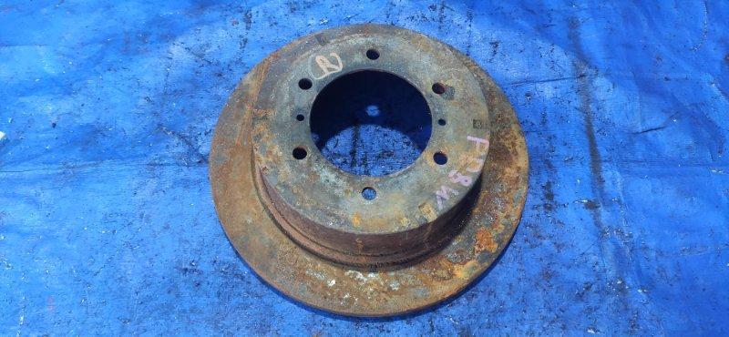 Тормозной диск Mitsubishi Delica PE8W задний левый (б/у)