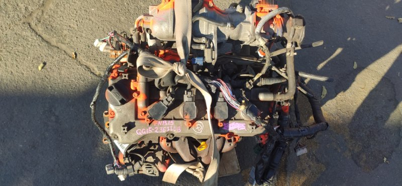 Двигатель Nissan Sunny FNB15 QG15DE (б/у)