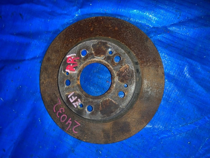 Тормозной диск Honda Cr-Z ZF1 LEA задний правый (б/у)