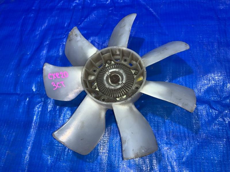 Вентилятор с вязкостной муфтой Toyota Estima CXR20 3C-T (б/у)