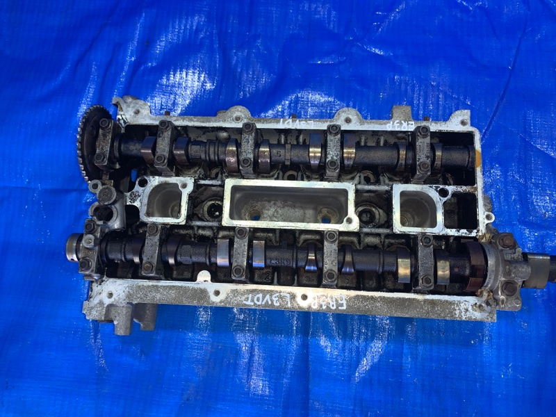 Головка блока цилиндров Mazda Mpv ER3P L3VDT (б/у)