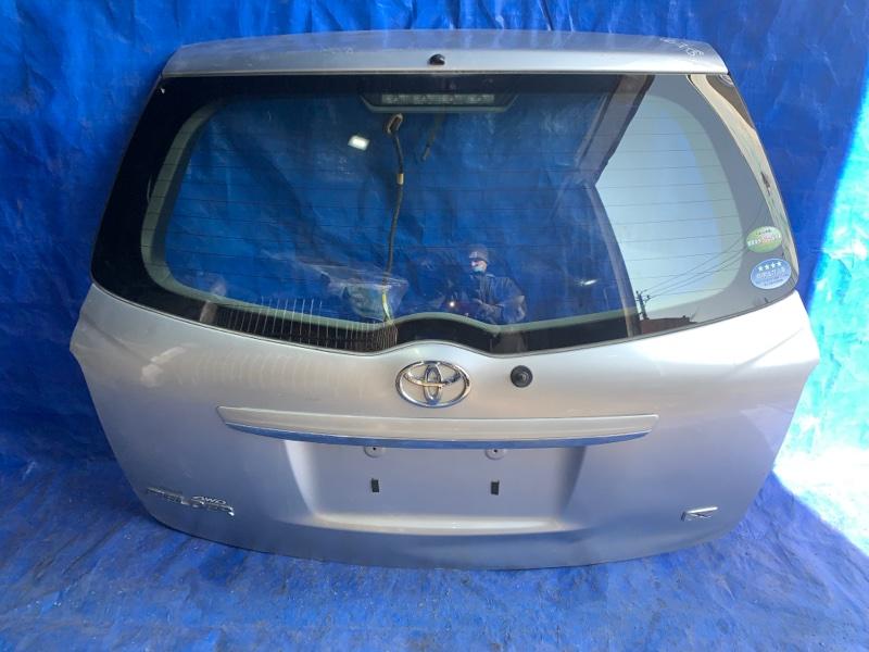 Дверь 5-я Toyota Corolla Fielder NZE144 задняя (б/у)