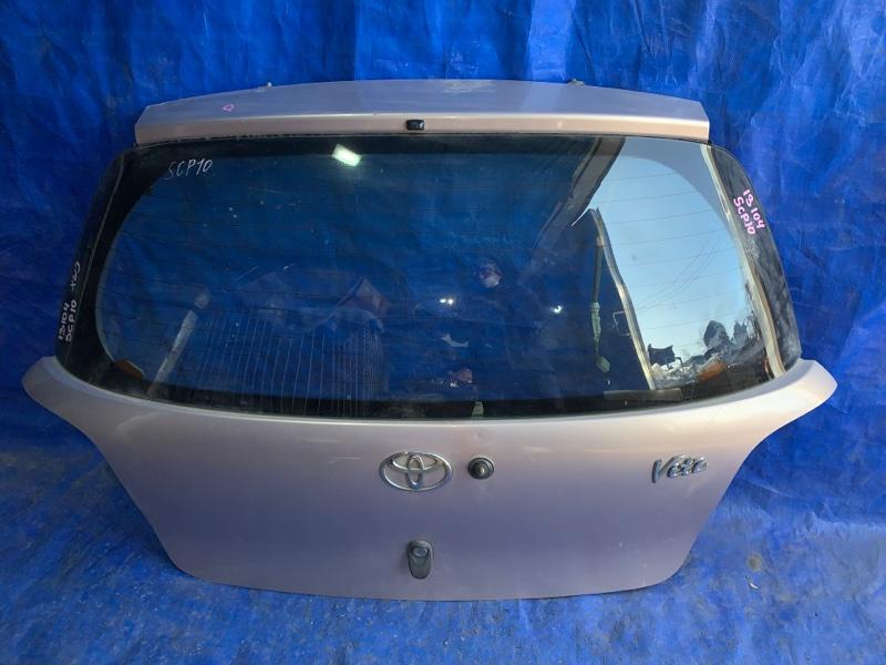 Дверь 5-я Toyota Vitz SCP10 задняя (б/у)