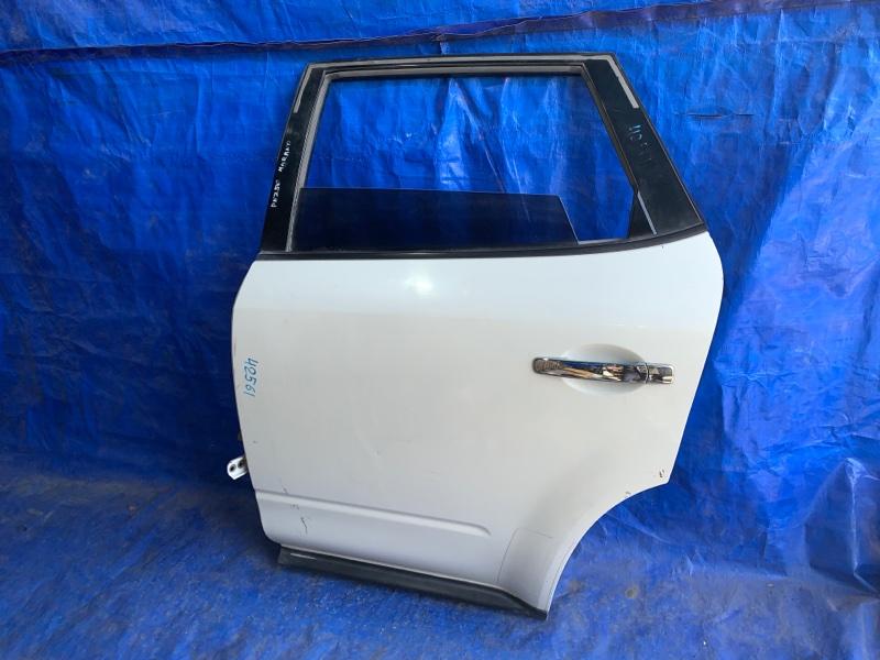 Дверь Nissan Murano PNZ50 VQ35DE задняя левая (б/у)