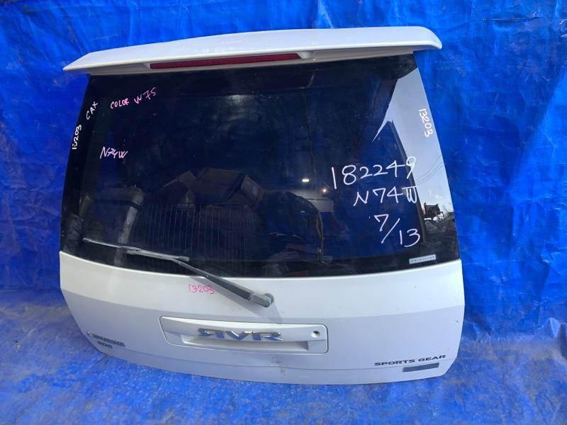 Дверь 5-я Mitsubishi Rvr N74W 4G93 задняя (б/у)