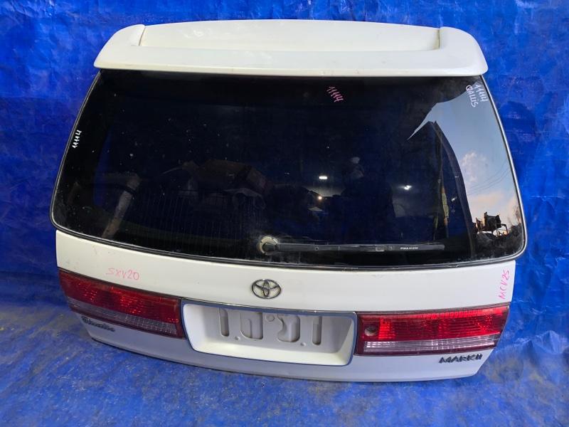 Дверь 5-я Toyota Mark Ii Qualis MCV25 задняя (б/у)