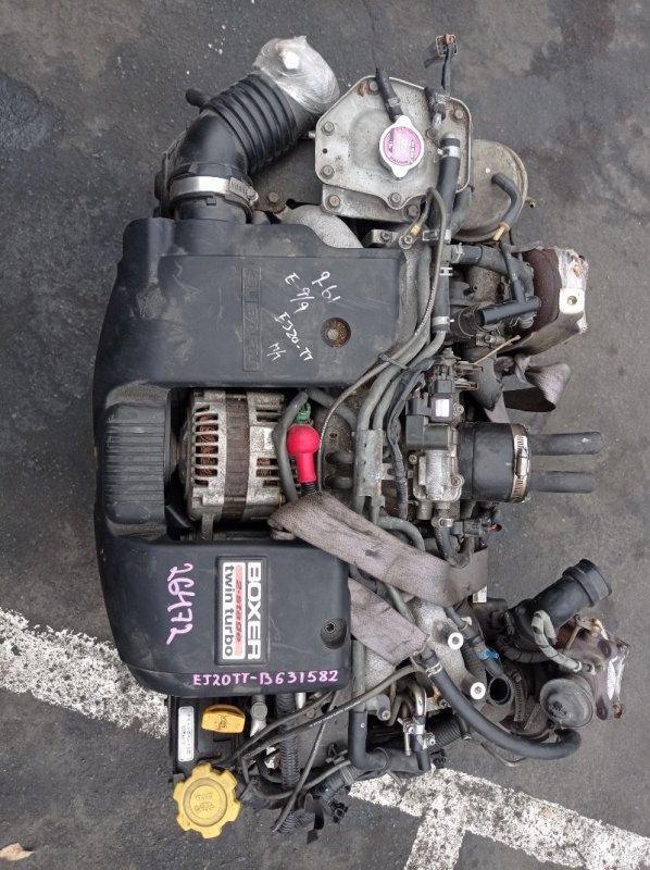 Двигатель Subaru Legacy BE5 EJ208 (б/у)