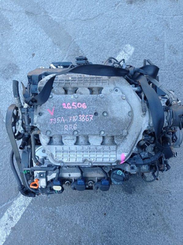 Двигатель Honda Elysion RR6 J35A (б/у)