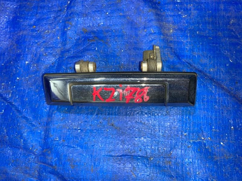Ручка двери внешняя Toyota Land Cruiser Prado KZJ78 задняя левая (б/у)