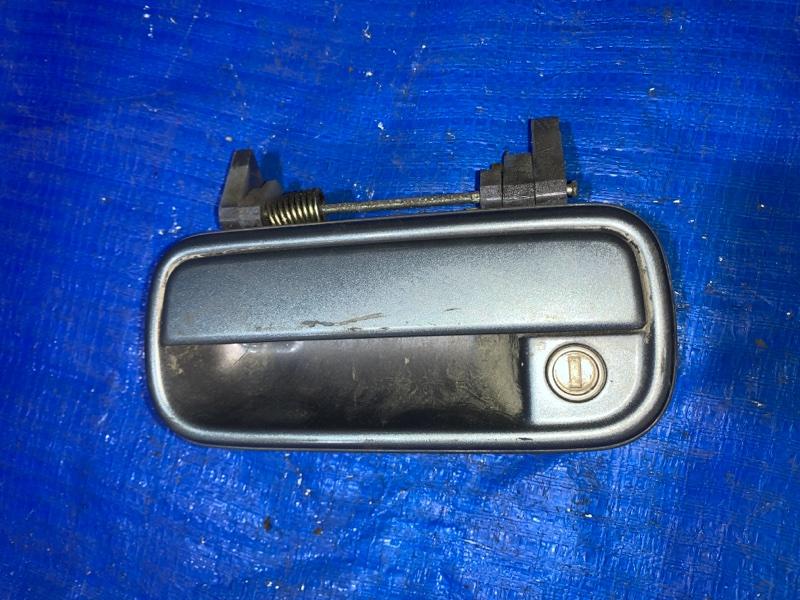 Ручка двери внешняя Toyota Hilux Surf KZN185 передняя левая (б/у)
