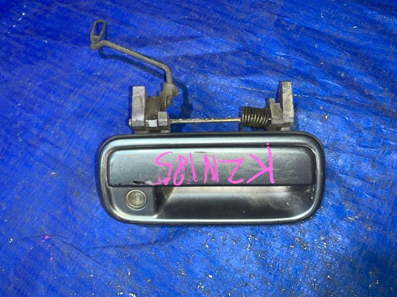 Ручка двери внешняя Toyota Hilux Surf KZN185 передняя правая (б/у)