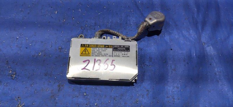 Блок розжига ксенона Toyota Isis ANM10 передний правый (б/у)