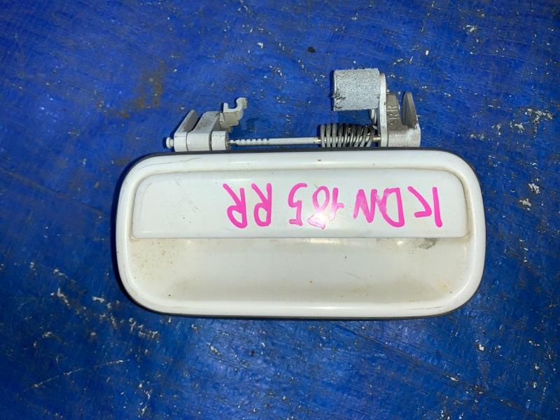 Ручка двери внешняя Toyota Hilux Surf KDN185 задняя правая (б/у)