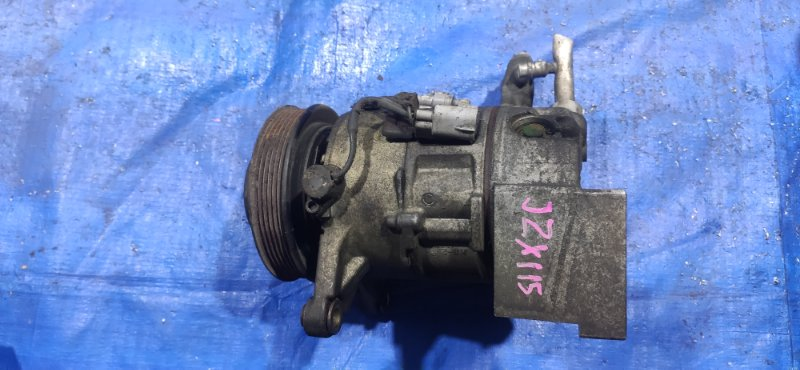 Компрессор кондиционера Toyota Mark Ii JZX115 1JZGE (б/у)