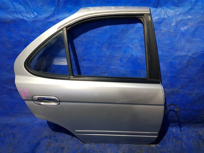 Дверь Nissan Sunny FNB15 задняя правая (б/у)