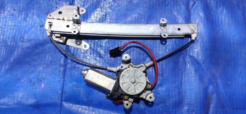 Стеклоподъемник Nissan Terrano LBYD21 задний левый (б/у)