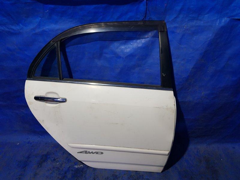 Дверь Toyota Corolla NZE120 задняя правая (б/у)