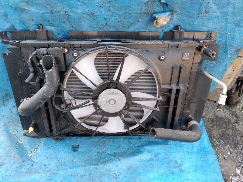 Радиатор основной Toyota Auris ZRE154 2ZR (б/у)
